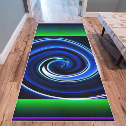 Dance in Neon L - Jera Nour Area Rug 10'x3'3''