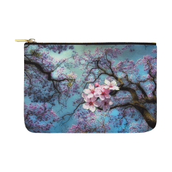 Cherry blossomL Carry-All Pouch 12.5''x8.5''