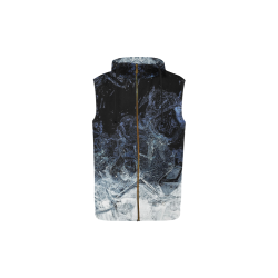 oil_a All Over Print Sleeveless Zip Up Hoodie for Kid (Model H16)