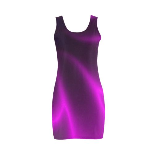 Purple Blossom Medea Vest Dress (Model D06)