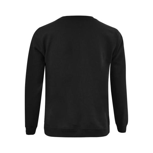 Intanjibles - Logo(2)1 Gildan Crewneck Sweatshirt(NEW) (Model H01)