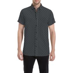 Model #51c| Men's All Over Print Short Sleeve Shirt (Model T53)