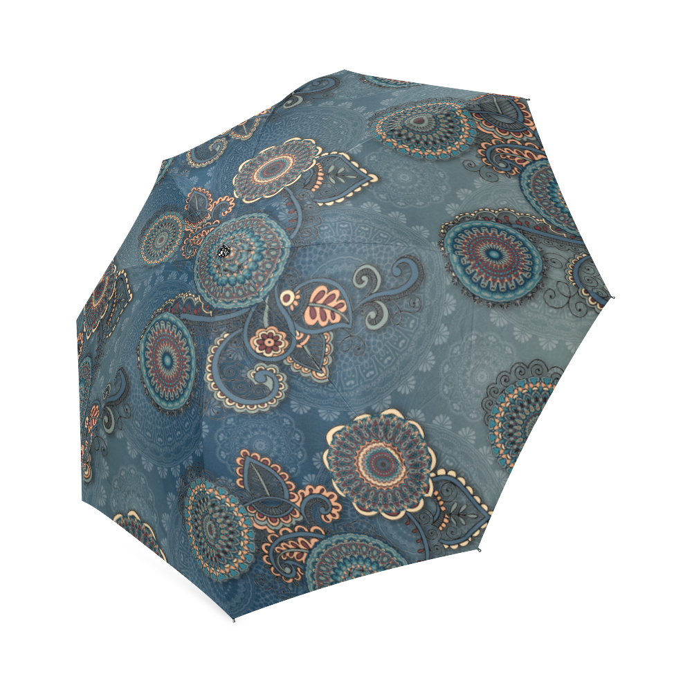 Mandalas Foldable Umbrella (Model U01)