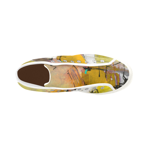 Lua yellow Vancouver H Men's Canvas Shoes (1013-1)