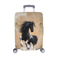 "Wonderful horse Luggage Cover/Medium 22""-25"""