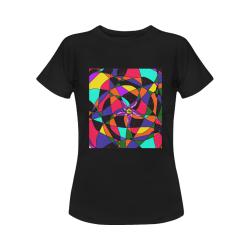 Abstract Design S 2020 Women's T-Shirt in USA Size (Front Printing Only)