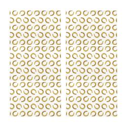 Golden horseshoe Placemat 12'' x 18'' (Six Pieces)