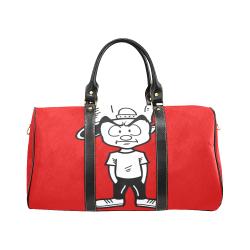 Red Duffle Bag New Waterproof Travel Bag/Large (Model 1639)