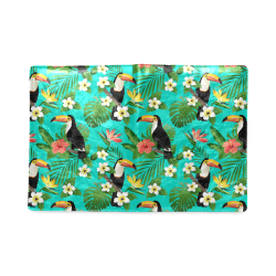 Tropical Summer Toucan Pattern Custom NoteBook B5