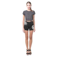 Mystic Sun and Moon Briseis Skinny Shorts (Model L04)