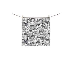 "Sheepdogs On Watch ~ Original Square Towel 13""x13"""