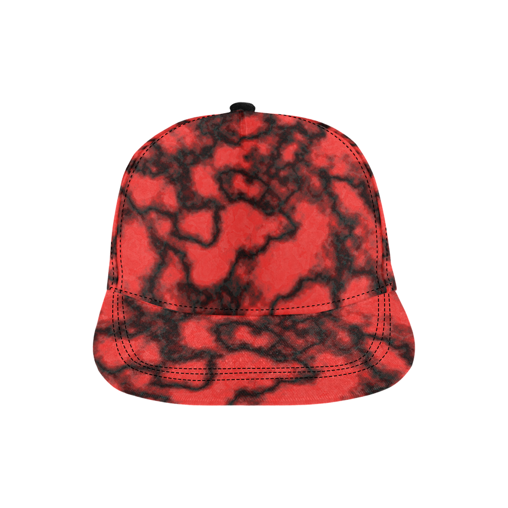 redplanet All Over Print Snapback Hat D