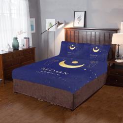 Moon goddess 3-Piece Bedding Set