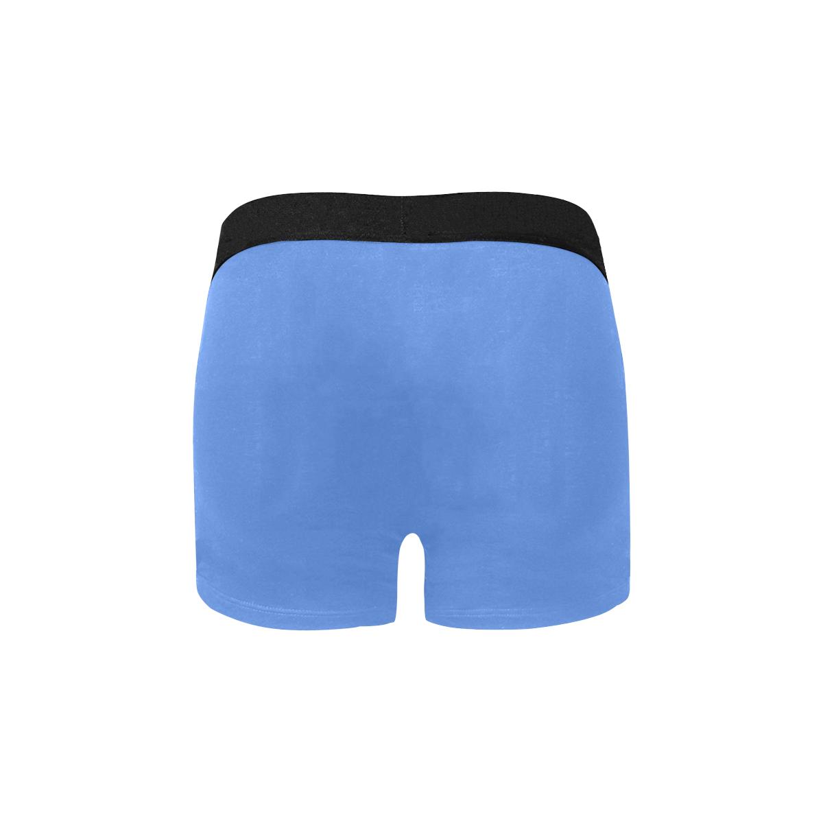 color cornflower blue Men's All Over Print Boxer Briefs (Model L34)