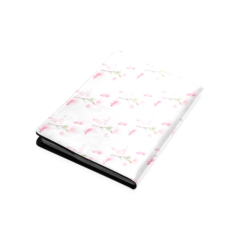 Pattern Orchidées Custom NoteBook B5