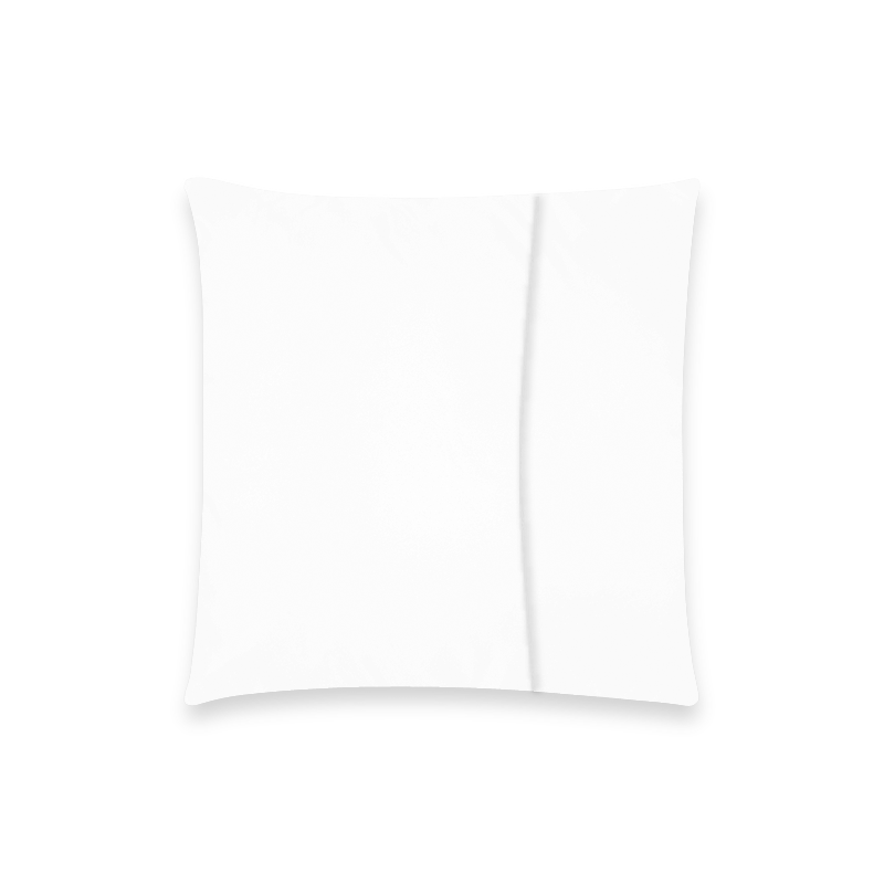 "nouunmmm Custom  Pillow Case 18""x18"" (one side) No Zipper"