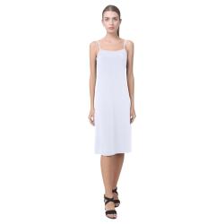 Brilliant White Alcestis Slip Dress (Model D05)