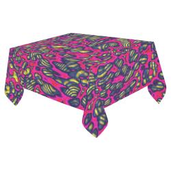 "70s chic 1 Cotton Linen Tablecloth 52""x 70"""
