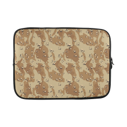 Vintage Desert Brown Camouflage Custom Sleeve for Laptop 15.6""