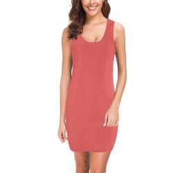 Valentine Red Medea Vest Dress (Model D06)