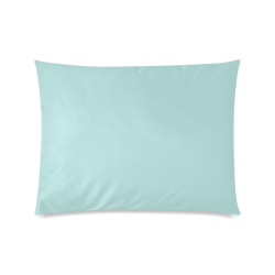 "Bleached Coral Custom Zippered Pillow Case 20""x26""(Twin Sides)"