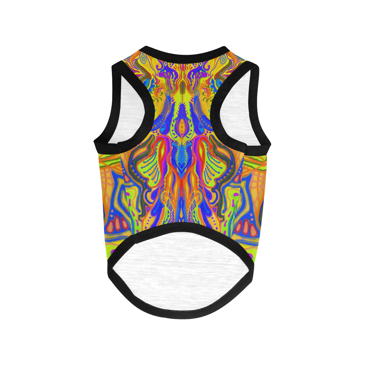 tropical fish-6 All Over Print Pet Tank Top