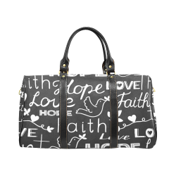 Big Travel Bag Black 6 New Waterproof Travel Bag/Large (Model 1639)