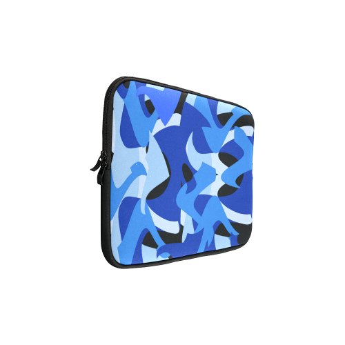 Camouflage Abstract Blue and Black Macbook Pro 15''