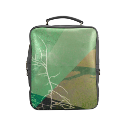 P22-B2 TREES AND TRIANGLES_BP7 Square Backpack (Model 1618)