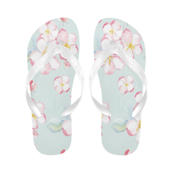 appleblossoms Flip Flops for Men/Women (Model 040)