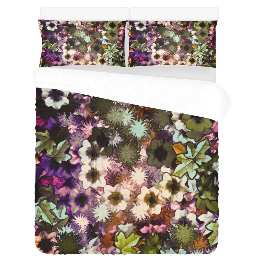 My Secret Garden #3 Night 3-Piece Bedding Set