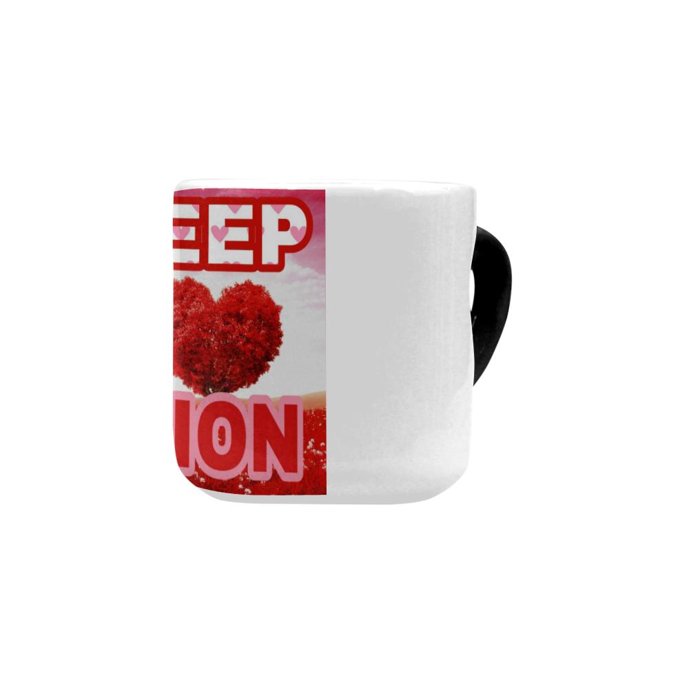 Sweep Nation Valentine's Special mug Heart-shaped Morphing Mug