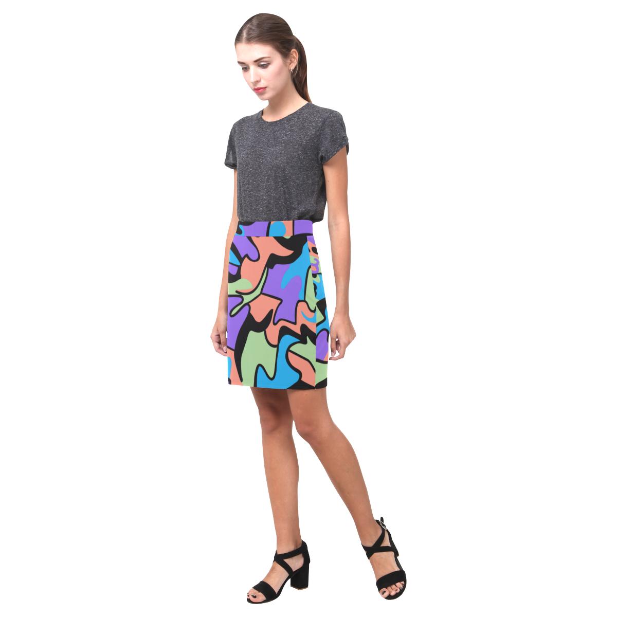 Pencil Skirt Seen Nemesis Skirt (Model D02)