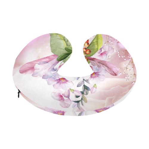 Wonderful flowers U-Shape Travel Pillow