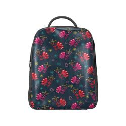 Cute Floral Birds Pattern Popular Backpack (Model 1622)