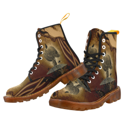 Mechanical skull Martin Boots For Men Model 1203H