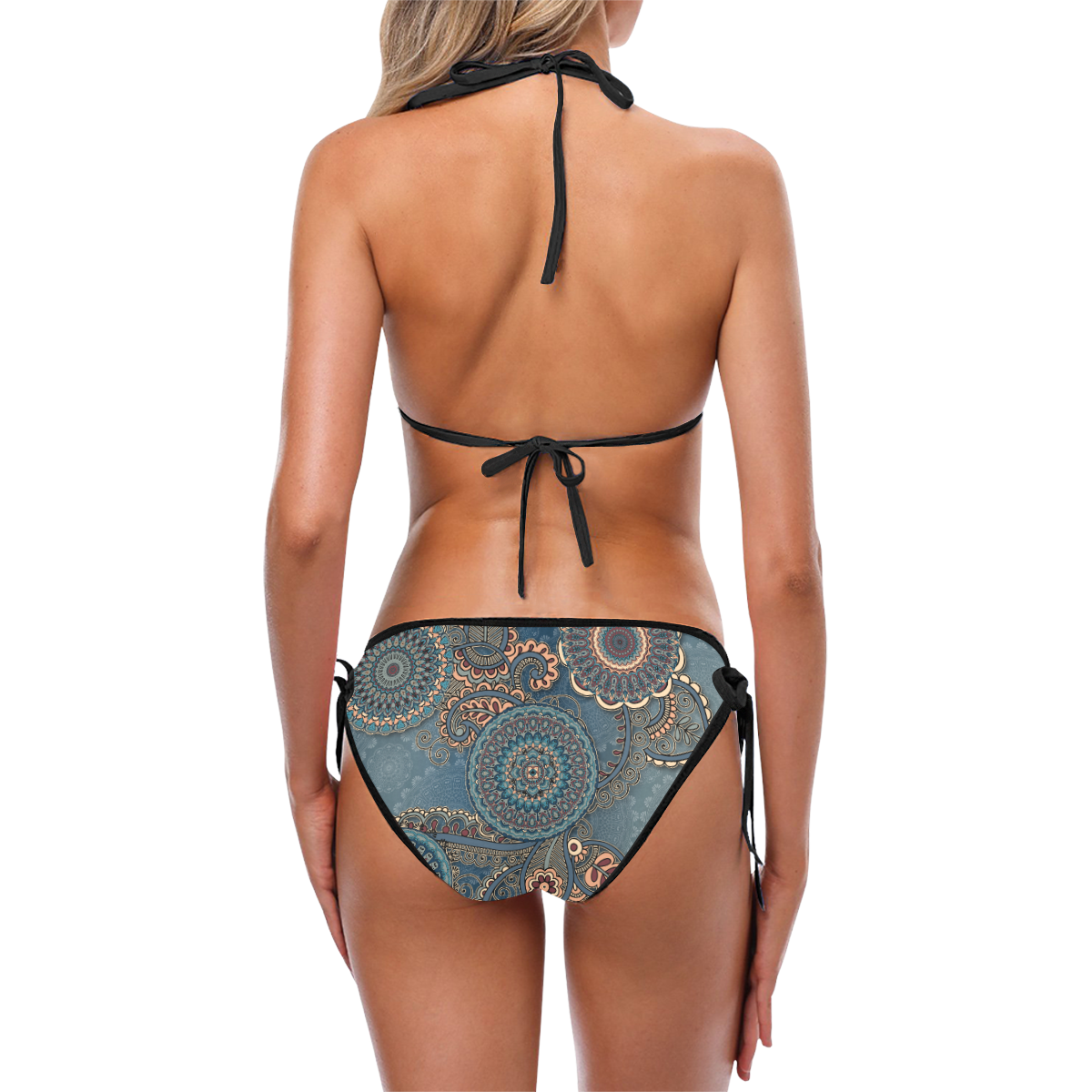 Mandalas Custom Bikini Swimsuit (Model S01)