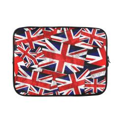 """Union Jack British UK Flag Custom Sleeve for Laptop 15.6"""""""