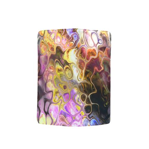Colorful Marble Design Men's Clutch Purse (Model 1638)