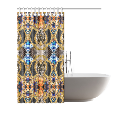 """Luxury Abstract Design Shower Curtain 66""""x72"""""""
