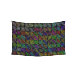 """Ripped SpaceTime Stripes Collection Cotton Linen Wall Tapestry 60""""x 40"""""""