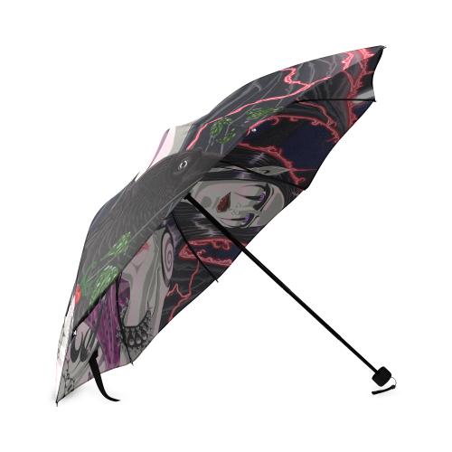 Sacred Title Piece Umbrella Foldable Umbrella (Model U01)