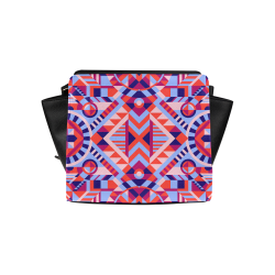 Modern Geometric Pattern Satchel Bag (Model 1635)