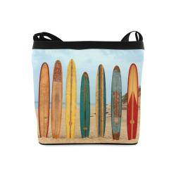 GONE SURFIN'  RETRO Crossbody Bags (Model 1613)