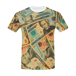 US DOLLARS 2 All Over Print T-Shirt for Men/Large Size (USA Size) Model T40)