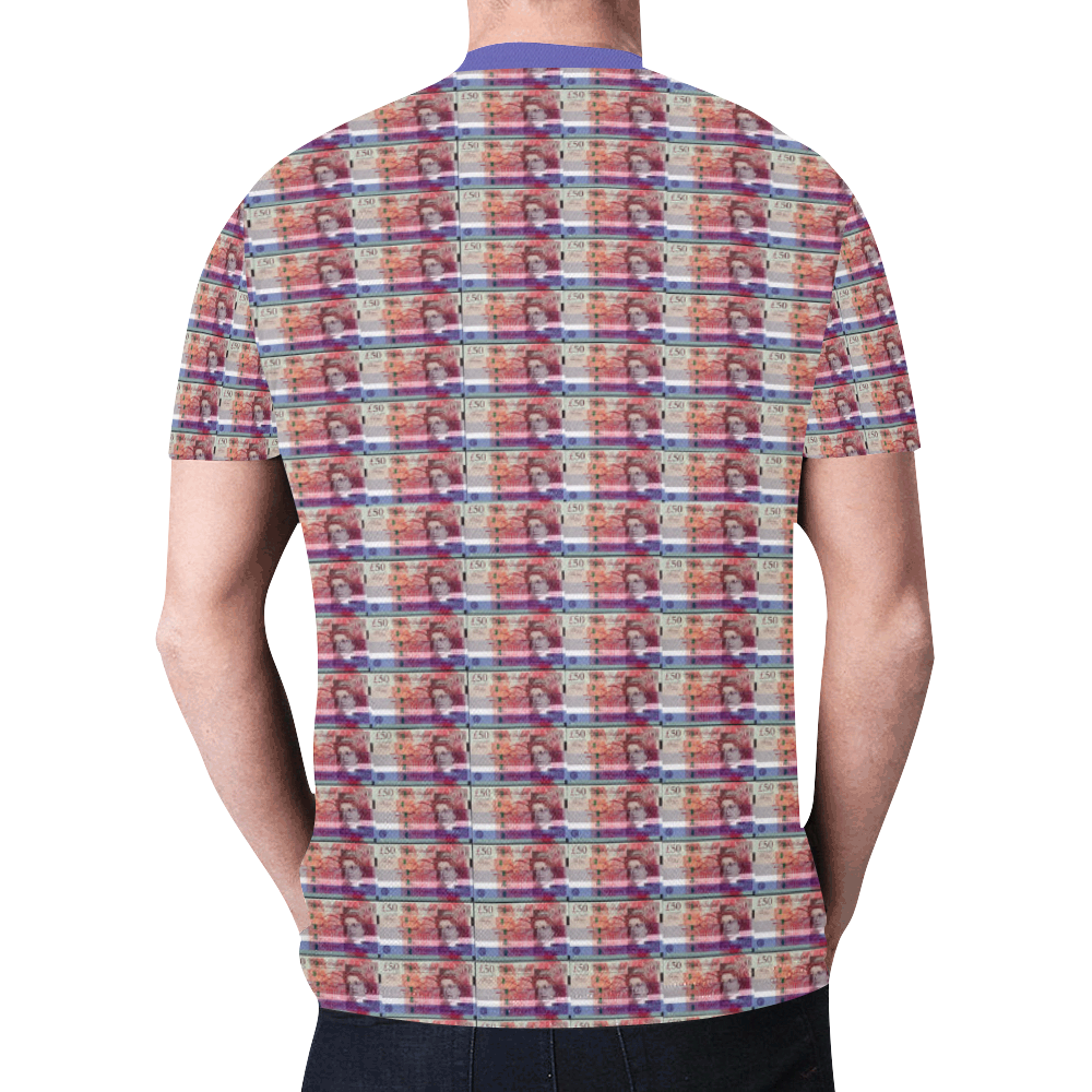 Pay day New All Over Print T-shirt for Men (Model T45)