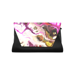 Colorful Marble Design Clutch Bag (Model 1630)