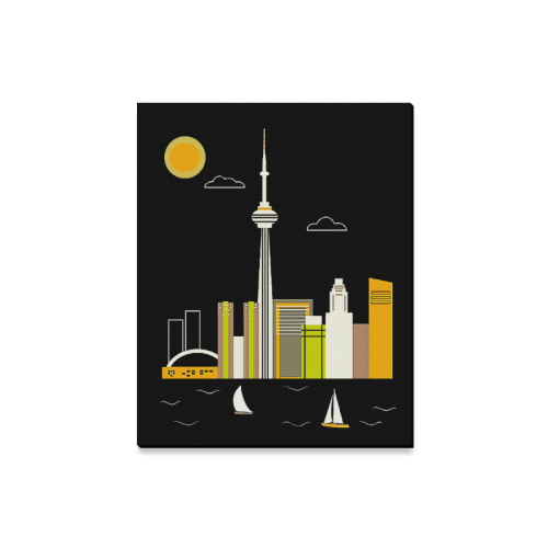 "Toronto Canvas Print 16""x20"""