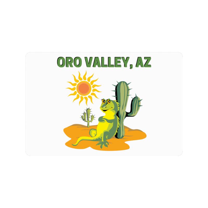 """Oro Valley, Arizona Doormat 24""""x16"""""""