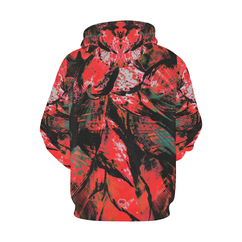wheelVibe_vibe12F All Over Print Hoodie for Men/Large Size (USA Size) (Model H13)